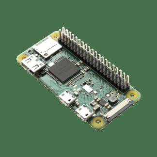 Raspberry Pi Zero W mit gelötetem Header, mit WLAN und Bluetooth - braspi