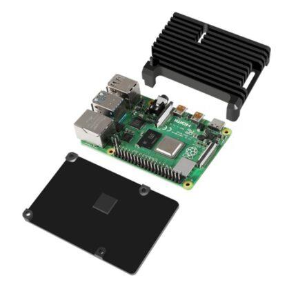 Aluminium-Gehäuse für Raspberry Pi 4 – vollumfassende Kühlung - braspi