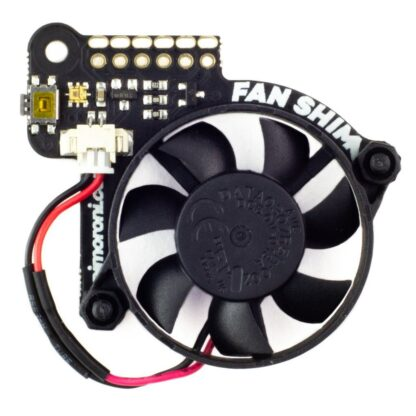 Fan Shim - smarte Kühlung für Raspberry Pi 4 (3B+, 3A+) - braspi