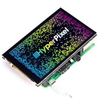 """HyperPixel 4.0 – 4.0"""" hochauflösender Display mit 60 fps - braspi"""