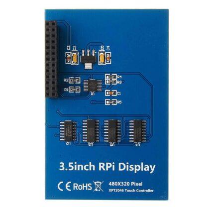 """Multifunktionales Gehäuse mit 3,5"""" Touchscreen für Raspberry Pi 4, 3B+, 3B, 2B - braspi"""